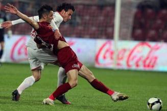 Dinamo a castigat la limita intalnirea cu CFR Cluj