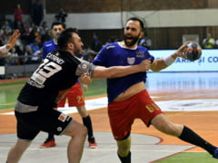 Dinamo a invins Steaua in marele derbi din handbal