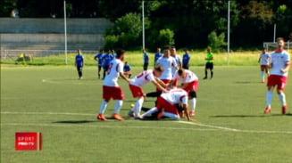 Dinamo a spulberat-o pe FCSB in campionatul de juniori