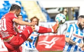 """Dinamo a uitat de retrogradare si viseaza la Europa. A treia victorie consecutiva a """"cainilor"""" in play-out. Cum arata clasamentul"""