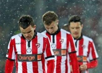 Dinamo castiga primul meci din play-out