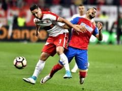 Dinamo invinge FCSB dupa doua penaltiuri si incinge lupta la titlu
