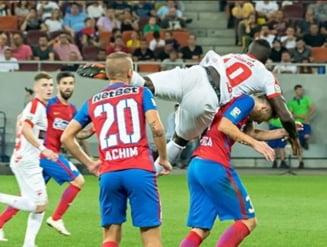 Dinamo invinge Steaua in marele derbi al Romaniei