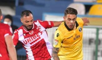 """Dinamo nu castiga nici in superioritate numerica. Rezultatul de la Voluntari ii condamna pe """"caini"""" la play-out"""