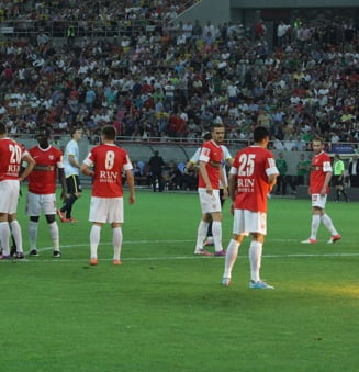Dinamo pierde cu scandal la Cluj