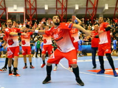 Dinamo se califica in play-off-ul Champions League dupa o victorie la limita cu elvetienii de la Kadetten Schaffhausen