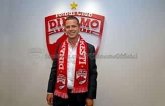 Dinamo si-a prezentat oficial noul antrenor