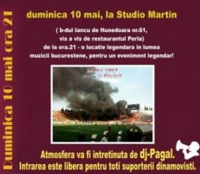 Dinamovistii sarbatoresc 12 ani de la incendierea peluzei din Ghencea