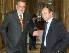 Dinu Patriciu si Traian Basescu - de la vrajba si rusine, la prietesug