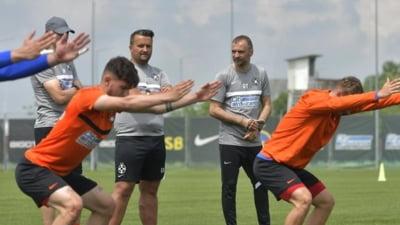 """Dinu Todoran, antrenorul FCSB, prima contră cu patronul Gigi Becali: """"Știți foarte bine cum e la noi"""""""