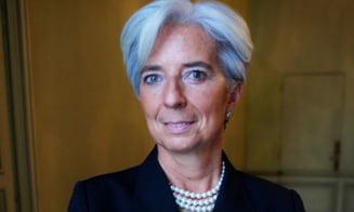 Directorul FMI, Christine Lagarde, vine in Romania
