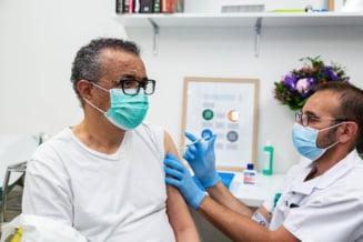 "Directorul Organizatiei Mondiale a Sanatatii s-a vaccinat anti-COVID: ""Te rog sa te vaccinezi cand iti vine randul"""