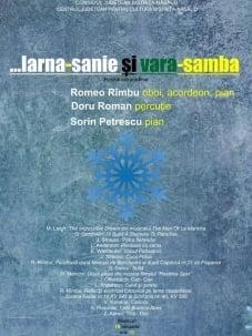 """Dirijorul Romeo Rimbu, in recitalul clasic: """"...iarna - sanie si vara - samba"""""""