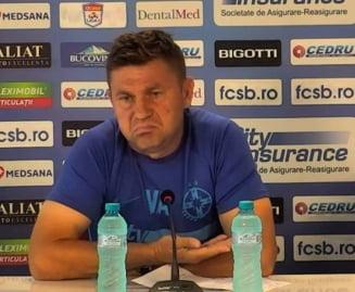 Discurs halucinant al antrenorului FCSB: Cum a facut tot posibilul sa nu-l supere pe Becali