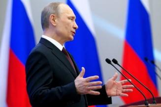 """Discurs sfidator al lui Vladimir Putin: saluta """"intoarcerea acasa"""" a Crimeii"""