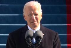 """Discursul lui Joe Biden dupa investirea ca presedinte al SUA: """"Vom repara aliantele si vom colabora cu lumea din nou. Vom conduce prin puterea exemplului"""""""