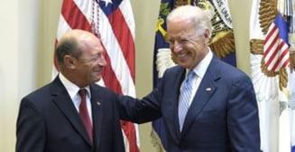 Discutie Basescu-Biden despre criza din Ucraina (Video)