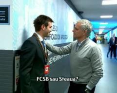 Discutie incredibila intre Mourinho si Chivu: FCSB sau Steaua?