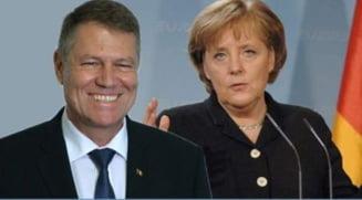 """Discutie telefonica intre Agela Merkel si Klaus Iohannis! Presedintele Romaniei a primit porecla de """"Kaizer"""""""