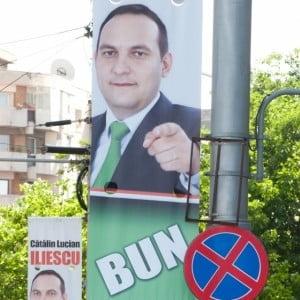 Disparitia si distrugerea de bannere electorale, principalele incidente electorale in judet
