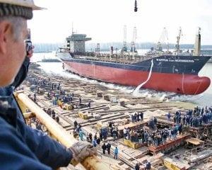 Disponibilizari la Santierul Naval Galati: 120 de oameni au plecat deja, alti 380 pleaca pana la sfarsitul lui 2020