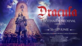 Distractie de weekend: Festivalul Medieval Dracula