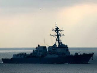Distrugatorul american USS Truxtun a inceput exercitiul militar in Marea Neagra