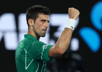 Djokovic il invinge pe Federer si ajunge in finala de la Australian Open