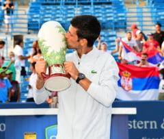 Djokovic l-a invins pe Federer in finala de la Cincinnati si a obtinut o performanta istorica