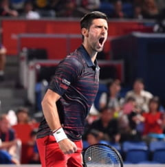 Djokovic s-a calificat in optimi la Shanghai