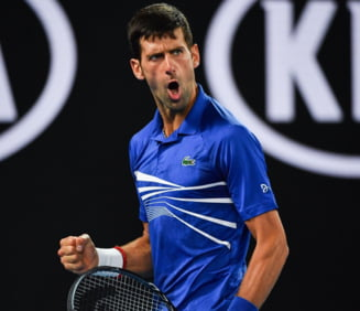 Djokovic se califica in finala la Australian Open dupa ce il zdrobeste pe Pouille