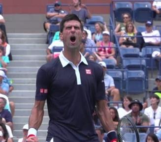 Djokovici, criza de nervi la US Open (Video)