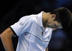 Djokovici, eliminat de la Turneul Campionilor. Semifinale surpriza la Londra