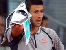 Djokovici a facut o criza de nervi la turneul lui Tiriac