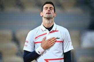 Djokovici a fost eliminat de lucky loser-ul Lorenzo Sonego in sferturi la Viena