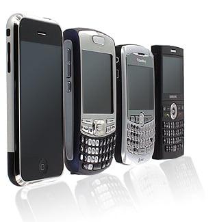 Doar opt din 100 de telefoane din Romania sunt smartphone-uri