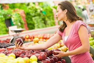Doar un sfert din fructele si legumele din magazine provin din Romania - studiu