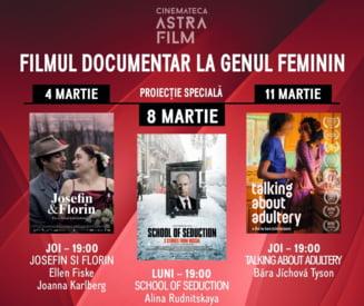 Documentare regizate de femei, in martie la Cinemateca Astra Film - VIDEO