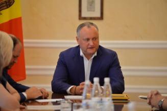 Dodon acuza Guvernul moldovean si pe partenerii acestuia din Romania de tensionarea relatiilor moldo-ruse