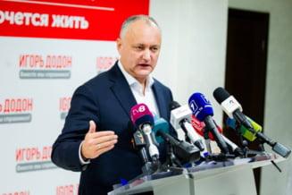 Dodon anunta ca pleaca la Moscova imediat dupa investirea Maiei Sandu in functia de presedinte