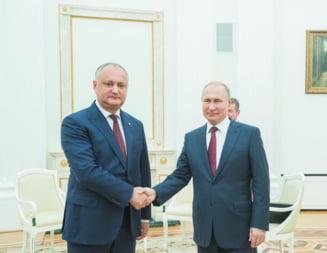 Dodon i-a dat raportul lui Putin, la Moscova, despre vizita facuta la Bruxelles