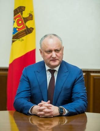 Dodon vrea sa modifice Constitutia pentru a bloca unirea R. Moldova cu Romania