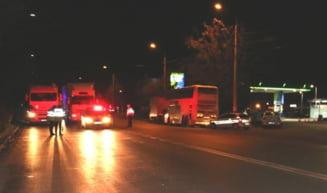 Doi copii din Giurgiu, raniti intr-un accident rutier