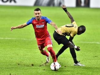 Doi jucatori de baza ai Stelei pot lipsi in marele derbi cu Dinamo, daca vor primi cartonase in meciul cu FC Botosani