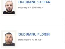 Doi membri ai clanului Duduianu, dati in urmarire in dosarul in care manelistii Florin Salam si Nicolae Guta acuza ca au fost talhariti de interlopi