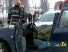 Doi morti si 7 raniti, intr-un accident petrecut in Vaslui