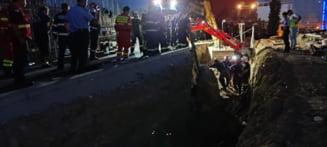 Doi muncitori au murit și patru au fost răniți după prăbușirea malului de pământ din zona Bibliotecii Naţionale VIDEO