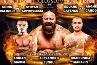 Doi oradeni lupta in gala Colosseum de la Oradea