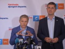 Doi parlamentari USR PLUS refuza sa semneze motiunea de cenzura alaturi de AUR. Barna si Ciolos i-au chemat la discutii SURSE