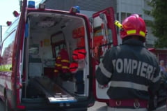 Doi raniti grav in urma unui accident petrecut pe DN7. Un sofer a pierdut controlul volanului si s-a izbit de o autoutilitara